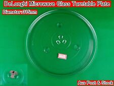 DeLonghi Microwave Oven Spare Parts Glass Turntable Plate Platter W15 Brand New