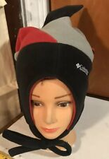 Columbia Jester Joker Fleece Winter Hat Cap Youth S/M Snowboard Ski