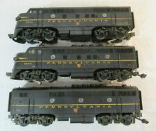 O Scale MTH EMD A-B-A Diesel Set - Pennsylvania - Protosound - 3-Rail