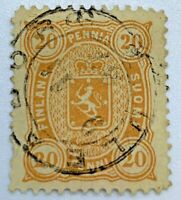 1885 FINLAND STAMP WITH UNIQUE 1887 SON CANCEL