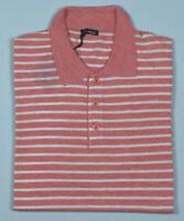 Kiton Mens Short Sleeve Knit Silk Linen Jumper Polo Shirt 50 M NEW  BN3/144