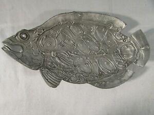 Don Drumm Pewter Fish Dish SMX603