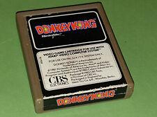 Donkey Kong Atari 2600 VCS Game Cartridge - CBS Electronics (Beige Cartridge)