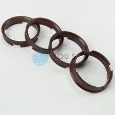4 x ZENTRIERRINGE DISTANZRING ALUFELGEN Z12D 72,6 - 66,6 mm Brock, Keskin - NEU