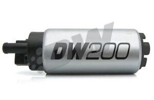 DeatschWerks DW200, 255lph fuel pump Mitsubishi Colt Ralliart CZT Smart Brabus
