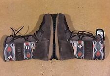 Tecnica Moon Boot Size 5.5 US Women's Vienna Native Brown Waterproof Boots