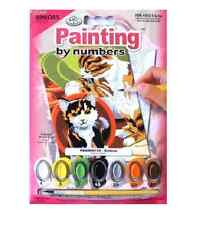 Royal Brush 305421 Mini Paint by Number Kit 5 in X 7 in Kittens Junior
