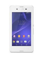 Téléphones mobiles blancs Android avec écran couleur