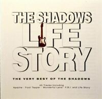 THE SHADOWS life story, the very best of (2x CD Compilation) Pop Rock, very good