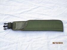 Frog Bayonet , IRR,olive Tasche für SA80 Bajonett,datiert REMPLOY LTD 1991