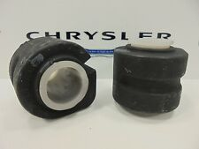 01-08 Chrysler Dodge Minivans New Sway Stabilizer Bar Bushing Set of 2 Mopar OEM