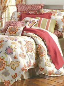 Rose Tree Comforter Set - Queen NWT Rare! Very Lofty!