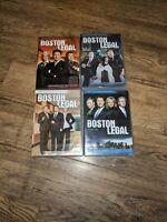 Boston Legal: Seasons 1 - 4 DVD Sets