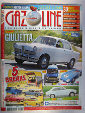 GAZOLINE N° 215 /ALFA GIULIETTA/MINI/PANHARD COMPETITION/PEUGEOT 304 S COUPE