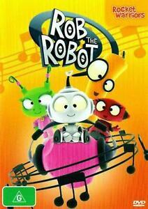 Rob the Robot: Rocket Warriors - DVD )--FREE POSTAGE