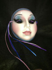 Clay Art Ceramic Decorative and Collectible Wall Mask,