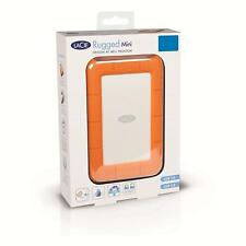 LaCie 2 TB Rugged Mini USB 3.0 Portable 2.5 Inch Shock, Drop and Crush Resistant