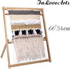 InLoveArts Large 60*54cm Weaving Loom Tapestry Weaving Loom Kit for Tapestry Art