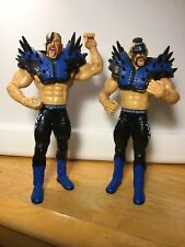 LEGION OF DOOM HAWK & ANIMAL ROAD WARRIORS JAKKS WWE CLASSIC SUPERSTARS FIGURES
