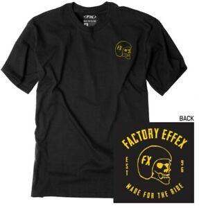 Factory Effex Skull T-Shirt Motorcycle Street Bike Dirt Bike