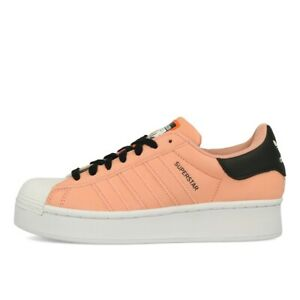 adidas Superstar Bold W Damen Pink White Black Plateau Schuhe Sneaker Rosa