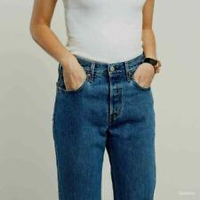 vintage LEVI'S 501 RARE 'for Women' JEANS W26 L30 size uk 6-8 ladies high waist