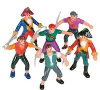 12 Assorted 2.5'' PIRATE FIGURES
