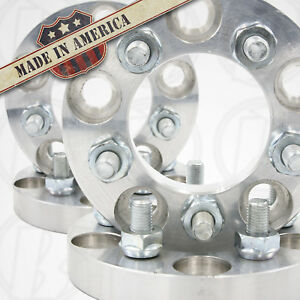 5x120 to 5x112 Wheel Adapters 1in. Thick x 4 US Made 12x1.5 stud 72.6 BMW bore