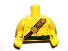 LEGO Yellow Torso Bare Chest Gold Strap Sash Desert Warrior Minifigure 71013