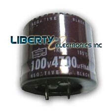 NEW 4700 uF 100V ELECTROLYTIC CAPACITOR 30x35mm