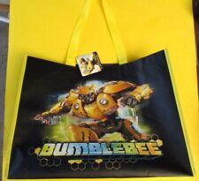 Hasbro Transformers Bumblebee Movie vinyl Tote Bag NEW UNUSED