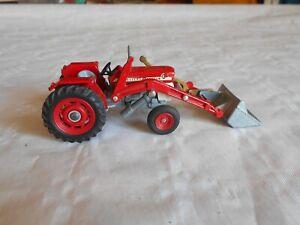 corgi toys massey ferguson 165 multi power tractor with bucket
