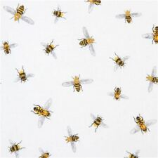 Every Day Favourites Bee Quilting Fabric Cotton FQ White