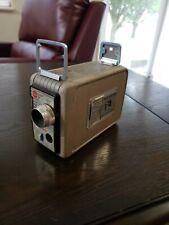 Vintage Kodak Brownie 8mm Movie Camera 13mm lens Kodachrome Film (works)
