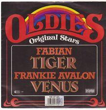 "7"" Fabian Tiger / Frankie Avalon Venus (Oldie) 80`s Bellaphon"