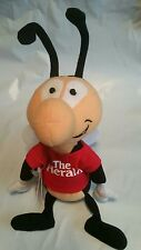 The Herald Buzz Stuffed Plush Bean Bag Buddy Bug Mascot Advertising Toy With Tag