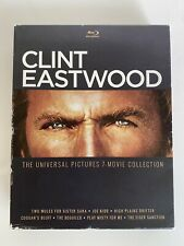 Clint Eastwood: The Universal Pictures 7-Movie Collection (Blu-ray) Pre-Owned