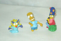 Simpsons Figures Maggie Bart & Marge
