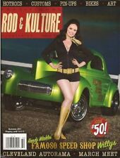 Traditional Rod & Kulture Illustrated #50. 1955 Studebaker. 1933 Ford.