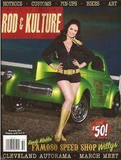 Traditional Rod & Kulture Illustrated #50. 1955 Studebaker. 1933 Ford.