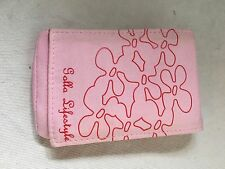 Golla Smart Bag for Mobile Devices/MP3 Players/Cameras - Pink with Red Flowers