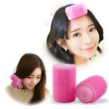 2Pcs Self-adhesive Bangs Roll Hair Plastic Curlers Hair Curlers For Women Female