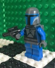 Lego Star Clone Wars MANDALORIAN BLUE TROOPERS Minifigure Minifig 7914 Battle