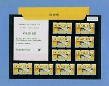 BRD Tastensatz 1 1-368 €urocent 10 Werte ** + VS-AQ & OVP 00 68 06 Nr. 5.1 30.-€