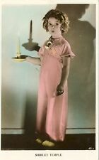 Shirley Temple Curly Hair Antique Vintage Original Real Photo Postcard RPPC 10