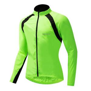 Cycling Windbreaker Mens MTB BMX Racing Sportswear Windproof Tops Men Women XL