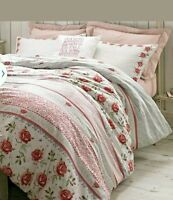 Rose and Bee Bedding by designer Emma Bridgewater Super King size + free pillows
