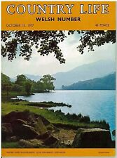 Country Life Magazine Welsh Number Cardigan Dyfed Oct 13 1977 Birthday Gift