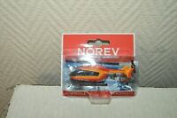 HELICOPTERE SECURITE CIVILE EMERGENCY SECOUR NOREV  METAL 1:100 MAQUETTE NEUF