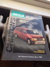 Chilton's Chrysler Town & Country Caravan Voyager Repair Manual 1984-95 #20300